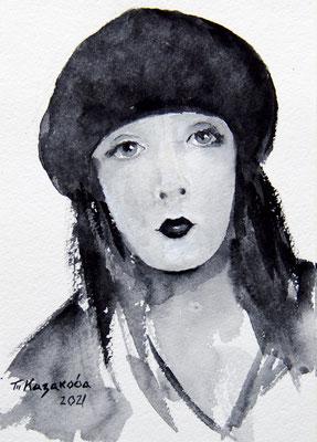 Татьяна Казакова. Чёрный берет
