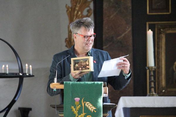 Gottesdienst am Volkstrauertag 2020 - Belumer BürgerInnen haben kräftig gespendet und sich damit solidarisch erklärt - Herzlichen Dank !