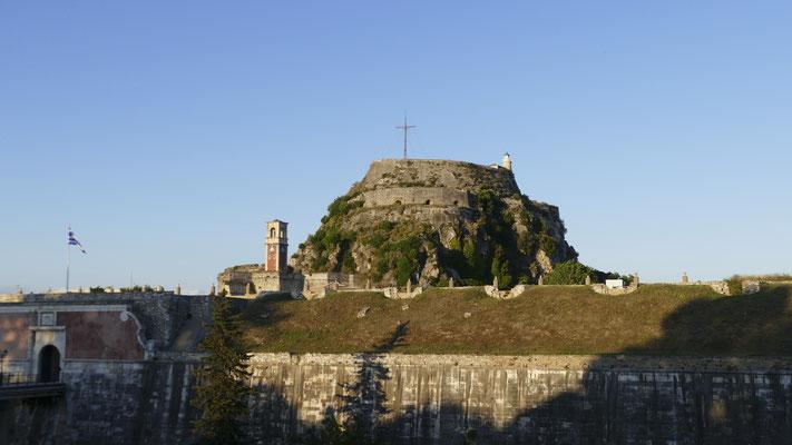 Burg in Korfu