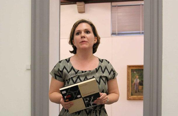 Patricia Bieder führt die neue Präsidentin ein