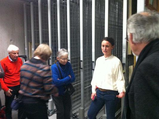 Visite mit Anabel von Schönburg im Kunstmuseum Solothurn