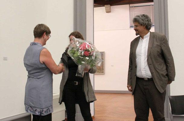 Blumen für Brigitte Müller