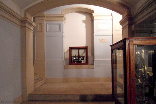 Dans les couloirs de l'observatoire astronomique de Strasbourg
