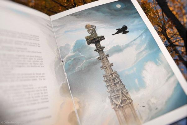 Image du livre Cathédrale, de John Howe, reproduite ici avec l'aimable autorisation des Éditions La Nuée Bleue