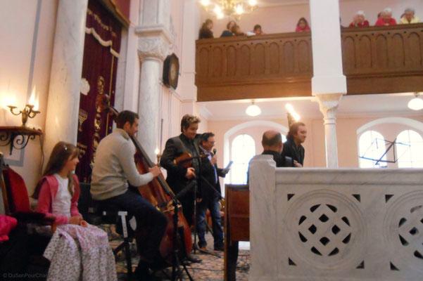 Quartet Foulitchay, en concert à la synagogue d'Obernai