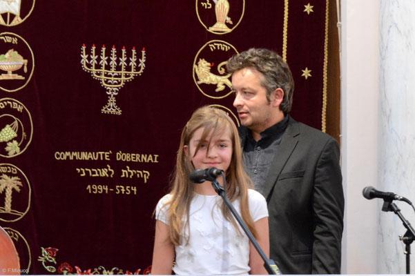 Le 4tet Foulitchay, en concert à la synagogue d'Obernai - Photo reproduite avec l'aimable autorisation de l'auteur, François Micucci