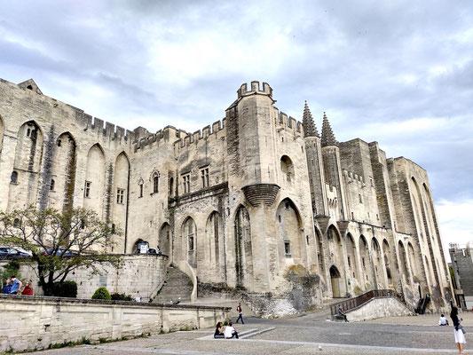 das ist nur ein Teil des päpstlichen Gebäudekomplex
