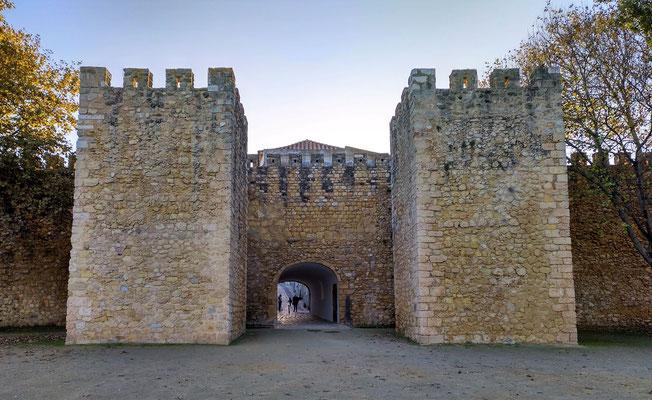 von der alten Stadtmauer ist nur wenig erhalten