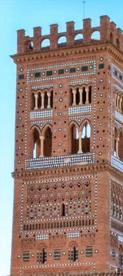 ein wunderschön gestalteter Turm