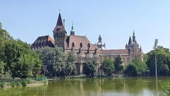 Schloss im City-Park