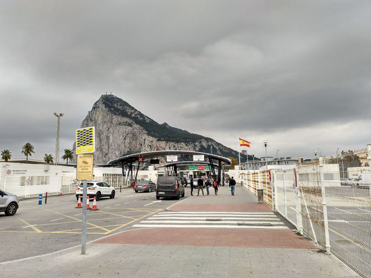 Grenzübergang nach Gibraltar