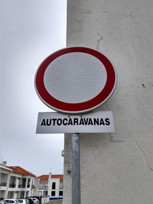 Fahrverbot für Wohnmobile