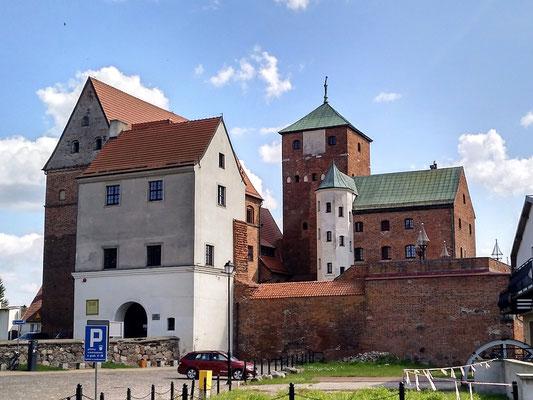 das von Erich VII erbaute Residenzschloss der pommerschen Herzöge