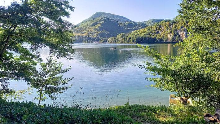 einer der Pliva-Seen