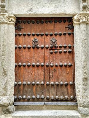 selten habe ich so viele wehrhafte Türen gesehen wie in Toledo
