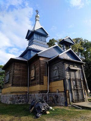 die Kapelle des alten Friedhofs wird restauriert
