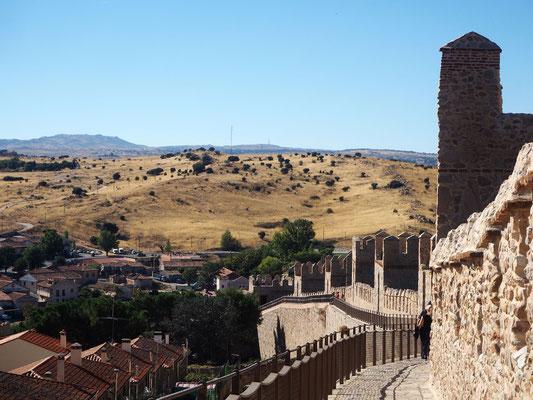 karge Landschaft um Ávila