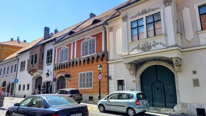 auch die alten Wohn- und Geschäftshäuser stehen unter Denkmalschutz