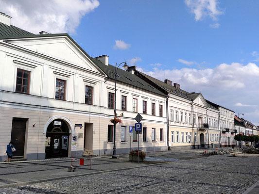 typische zweigeschossige Bebauung der Altstadt