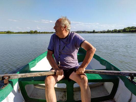 mein Held! rudert mich über den See