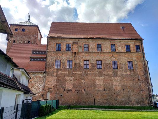 die Kehrseite des Schlosses