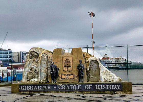 in Gibraltar wurde Geschichte geschrieben