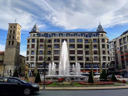 Springbrunnen gibt es viele in León