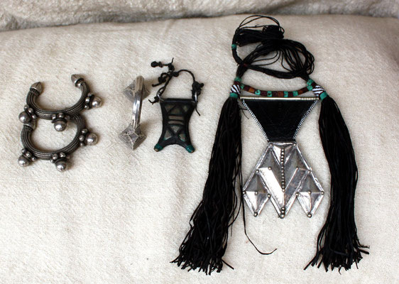 Schmuckstücke der Tuareg