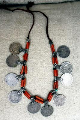 Berber-Halskette mit Münzen