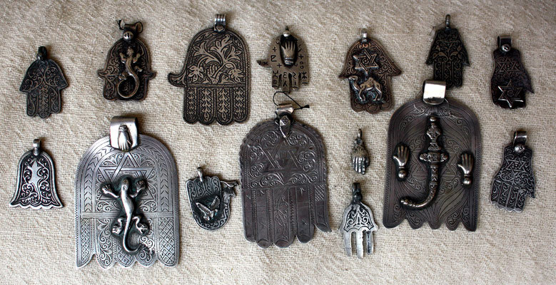 "Talismans ""Khamsa"" - Hand of Fatima"