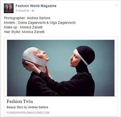 PUBLISHED ON FASHION WORLD MAGAZINE