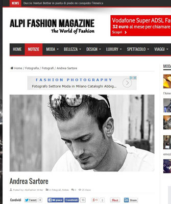INTERVIEWED BY ALPI FASHION MAGAZINE