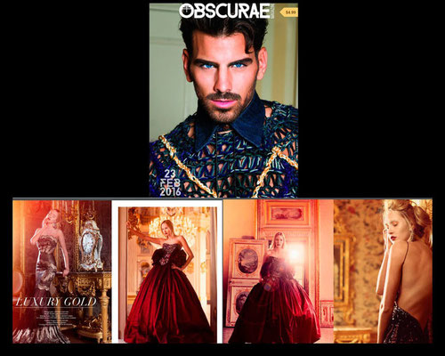 PUBLISHED ON OBSCURAE MAGAZINE
