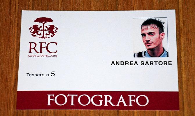 OFFICIAL PHOTOGRAPHER FOR RAVENNA FOOTBALL