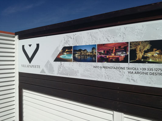 ADVERTISING FOR VILLA PAPEETE