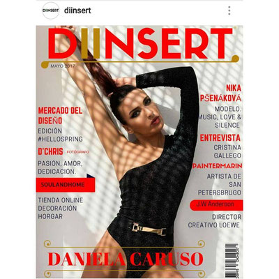 COVER ON THE MAGAZINE DIINSERT