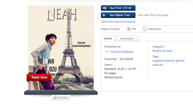 COVER ON NEAH MAGAZINE