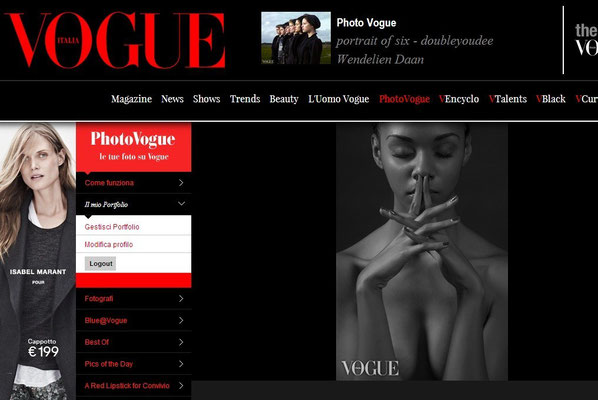PUBLISHED ON VOGUE