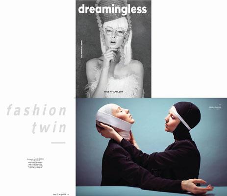 PUBLISHED ON DREAMINGLESS MAGAZINE
