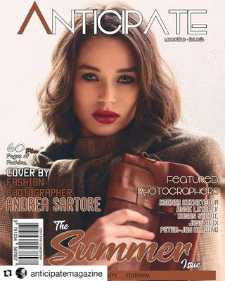 COVER ON ANTICIPATE MAGAZINE