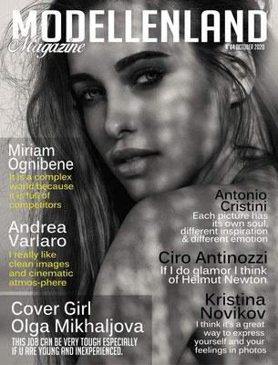 COVER ON THE MAGAZINE MODELLENLAND