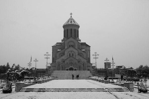 Tbilissi, Cathédrale de la Trinité