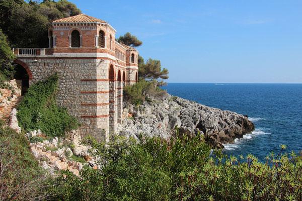 Côte d'Azur entre Monaco et Menton