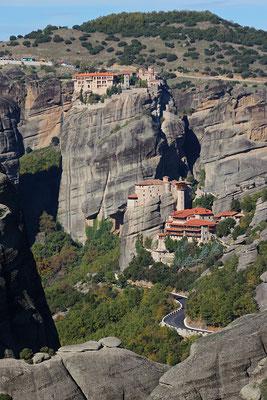Kalampaka, les météores et leurs monastères