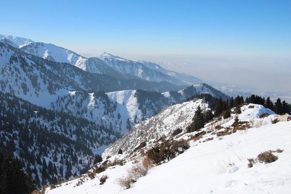 Montagnes dans la région du Sud-Est