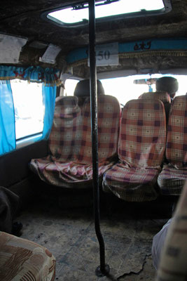 Mini bus locaux