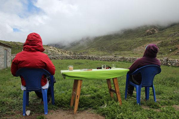 Un thé au pays des nuages