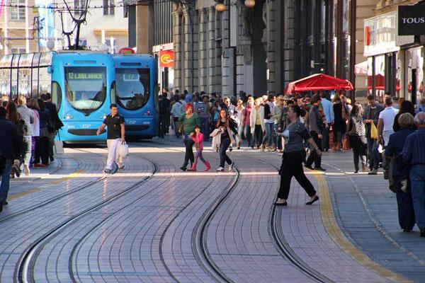 Les trams de Zagreb