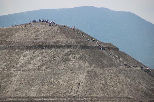 Temple du Soleil à Teotihuacan