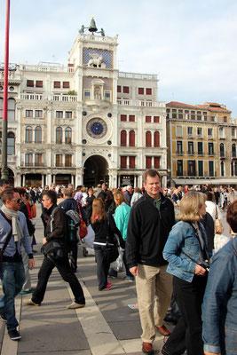 Venise, Tour de l'horloge